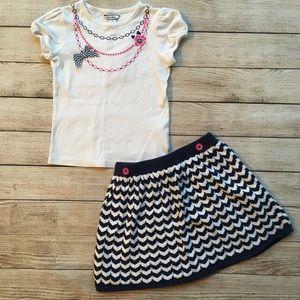 Hartstrings Shirt & Skirt Set Bundle